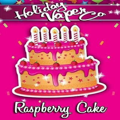 Holiday Vaper Co. <br />Raspberry Cake