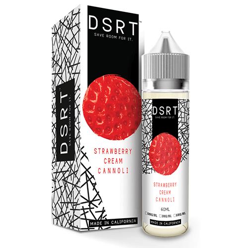 DSRT <br />Strawberry Cream Cannoli