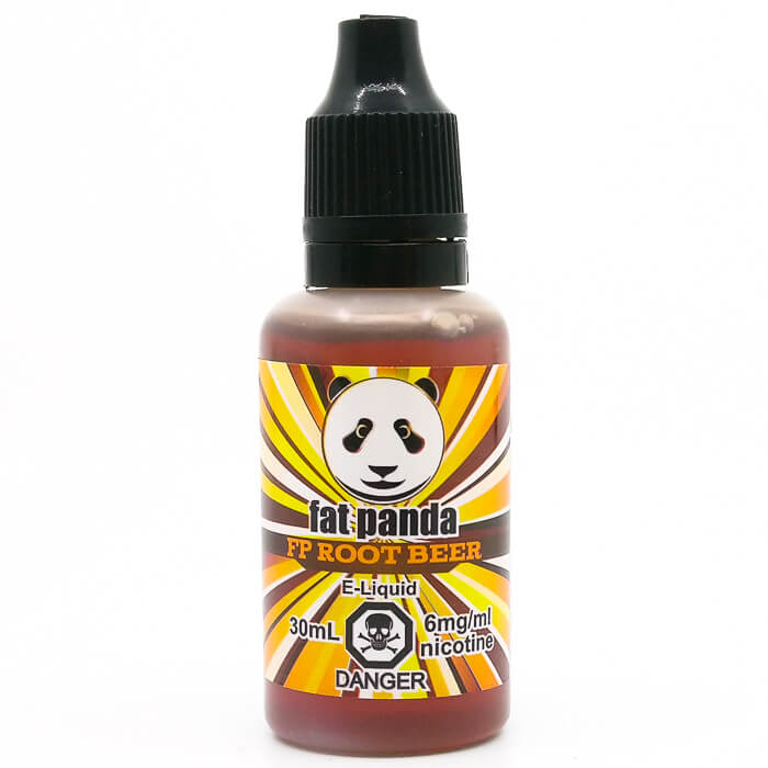 fat panda root beer 30ml - vapour choice - edmonton canada